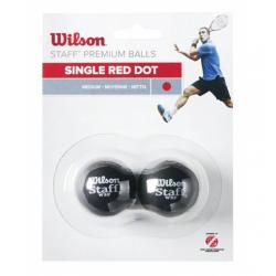 WILSON-STAFF SQUASH 2 KS RED DOT