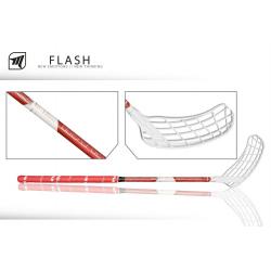 Florbalová hokejka MPS FLASH Red JR L
