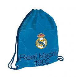 Vrecko na prezúvky REAL MADRID RMA BL/WH Taška na prezuvky 1 MIR BLK