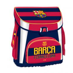 Školský ruksak FC BARCELONA FCB COL Kompaktná školská taška 1 MIR BLK