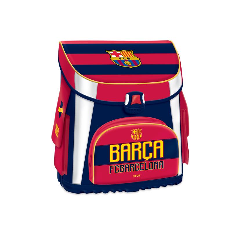 f91575236099d Školský ruksak FC BARCELONA-FCB COL Kompaktná školská taška 1 MIR BLK -