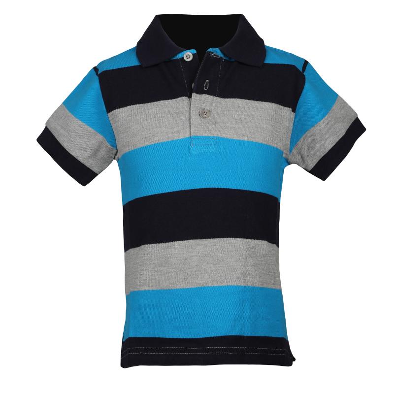 02b6e6a78e83 Chlapčenské polo tričko s krátkym rukávo AUTHORITY-ELMYO B grey - Detské tričko  značky Authority