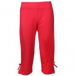 Detské nohavice 3/4 AUTHORITY-SASENA red
