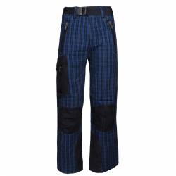 Turistické nohavice AUTHORITY-TREKKO B blue