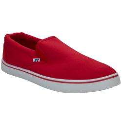 Pánska rekreačná obuv RUSSELL ATHLETIC-Slip on Red