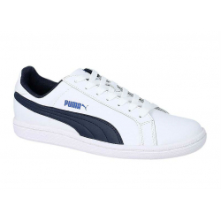 Juniorská rekreačná obuv PUMA-Puma Smash FUN L Jr white-peacoat