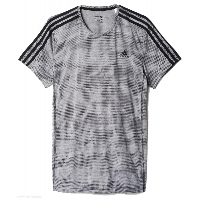 Pánske tréningové tričko s krátkym rukáv ADIDAS-PAPERPRINT TEE - 6b32678a8f8