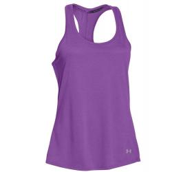 Tréningové tričko bez rukávov UNDER ARMOUR-charged NLS Tank purple