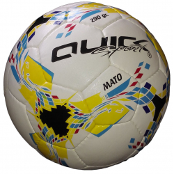 QUICK SPORT MATO  290g size 3 INDOOR  WH/YELLOW