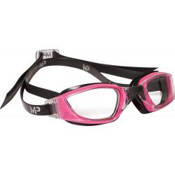 Plavecké okuliare MP XCEED LADY transparentes Glas-pink/schwarz