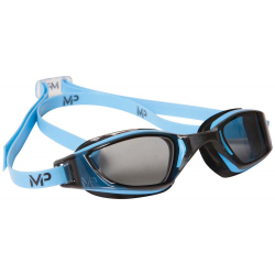 Plavecké okuliare MP XCEED getöntes Glas-blau/schwarz