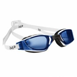 Plavecké okuliare MP XCEED blaues Glas-weiss/schwarz