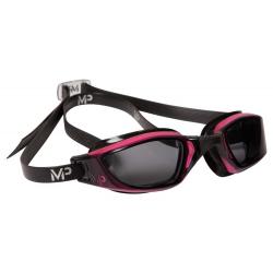 Plavecké okuliare MP XCEED LADY getöntes Glas-pink/schwarz