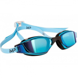 MP XCEED multi-layerversp. Glas-blau/schwarz