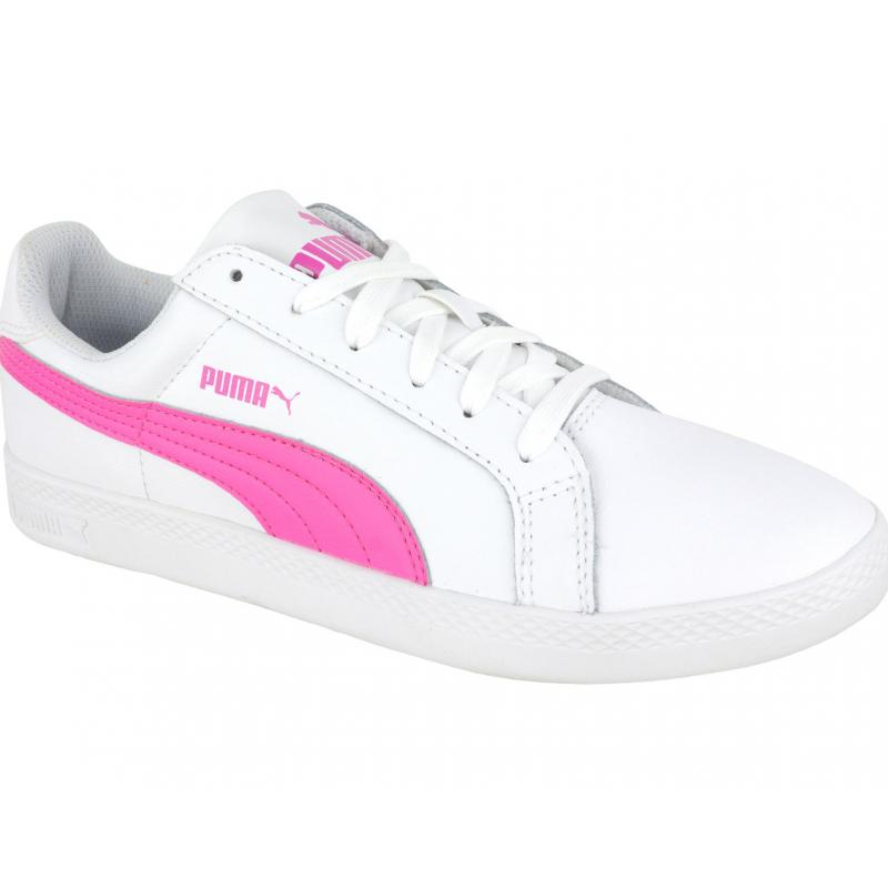 819221cdbfa2 Rekreačná obuv PUMA-Puma Smash Wns L white-phlox pink - Dámska vychádzková  obuv