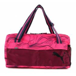 PUMA-Fundamentals Sports Bag II Fuchsia Purpl