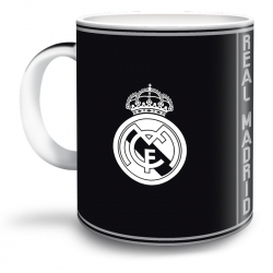 Hrnček REAL MADRID RMA BLK Šálka 18 MIR