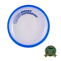 Frisbee AEROBIE-Lietajúci tanier SUPERDISC modrý