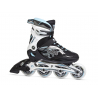 FILA SKATES-ARGON 84 LADY BLACK/WHITE/L.BL