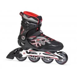 Pánske fitness kolieskové korčule FILA SKATES-ARGON 84 BLACK/RED