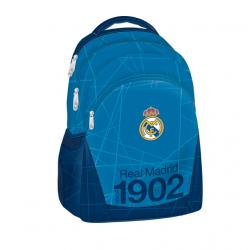 Školský ruksak REAL MADRID RMA BL/WH Plecniak 298 MIR BLK