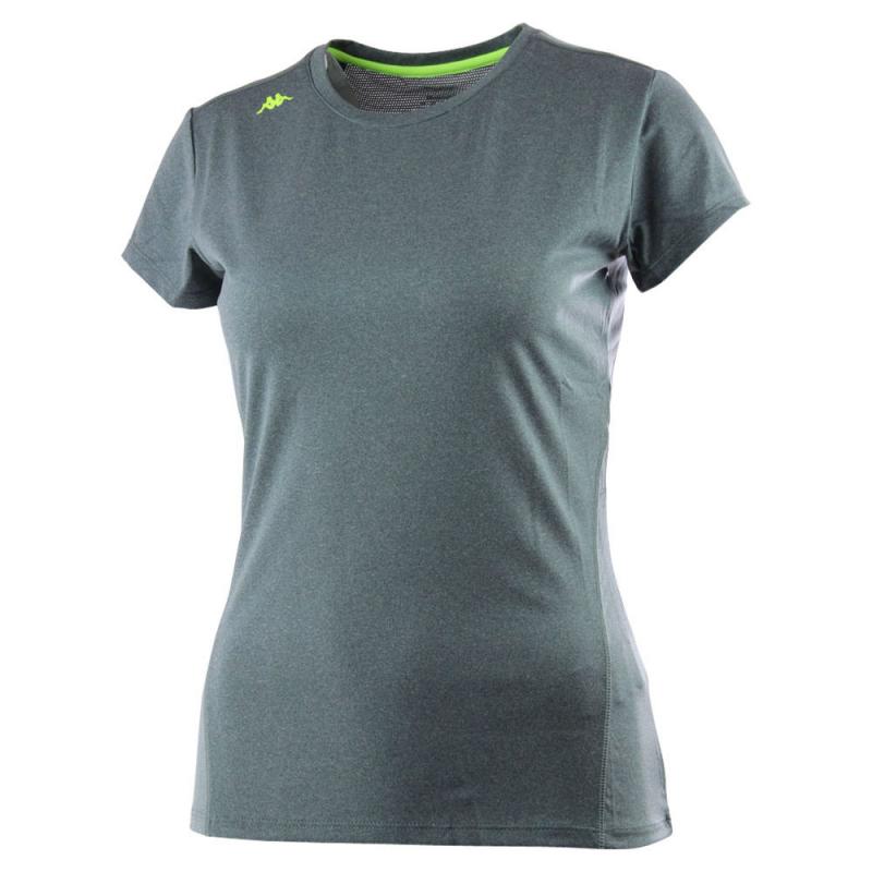 Dámske tréningové tričko s krátkym rukáv KAPPA Kappa 4 trainning FLIP grey - 3493ed4e9fe