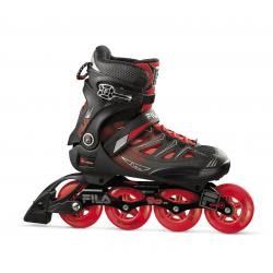 Pánske fitness kolieskové korčule FILA SKATES-GHIBLI 90 BLACK/RED