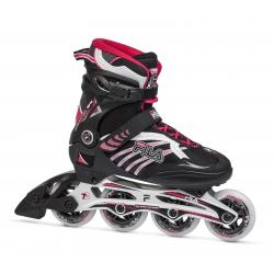 Dámske fitness kolieskové korčule FILA SKATES-REPTIX 84 LADY BLACK/RUBIN RED