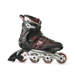 Pánske fitness kolieskové korčule FILA SKATES-HELIX BLACK/RED
