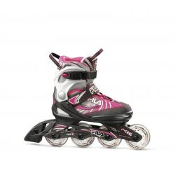 Detské kolieskové korčule FILA SKATES-J-ONE G BLACK/GREY/PINK