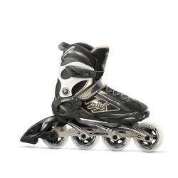 Dámske fitness kolieskové korčule FILA SKATES-PRIMO ALU 84 LADY BLACK/GOLD