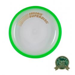 Frisbee AEROBIE-Lietajúci tanier SUPERDISC zelený