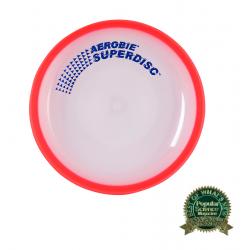 Frisbee AEROBIE-Lietajúci tanier SUPERDISC červený