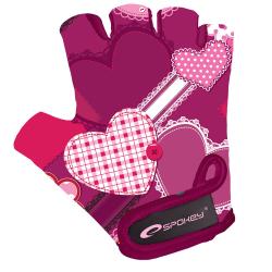 Detské cyklistické rukavice SPOKEY HEART GLOVE Dětské cyklistické rukavice XS