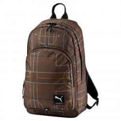 PUMA-Academy Backpack Burnt Orange-court