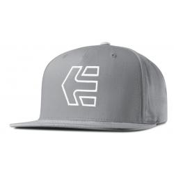 Šiltovka ETNIES-FA16 Icon 7 Snapback Hat 020 GREY