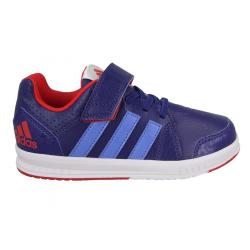 Dievčenská rekreačná obuv ADIDAS-LK Trainer 7 EL K UNIINK/RAYBLU/VIVRED