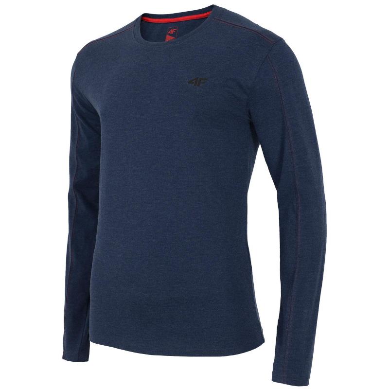 b7b564b9069a Pánske tričko s dlhým rukávom 4F-LONGSLEEVE TSML001-DENIM MELANGE -