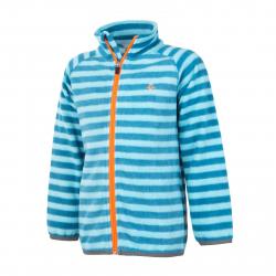 Chlapčenská flisová mikina s celým zipso COLOR KIDS-Vilbur fleece jacket-Blue