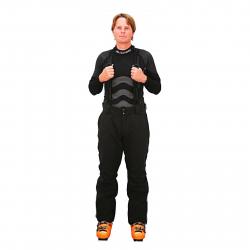 Pánske lyžiarske nohavice BLIZZARD Performance Pants black
