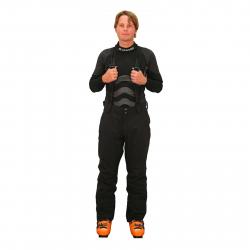 Pánske lyžiarske nohavice BLIZZARD-Freemountain Pants, black