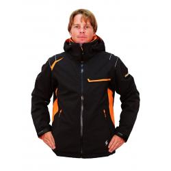 BLIZZARD BLIZZARD Power Jacket, black/orange/orange