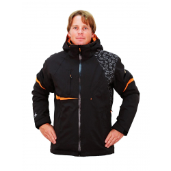 BLIZZARD BLIZZARD Freemountain Jacket, black/black/orange