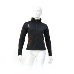 Dámska lyžiarska softshellová bunda VOLKL-BLACK GOLD SOFTSHELL JACKET BLACK