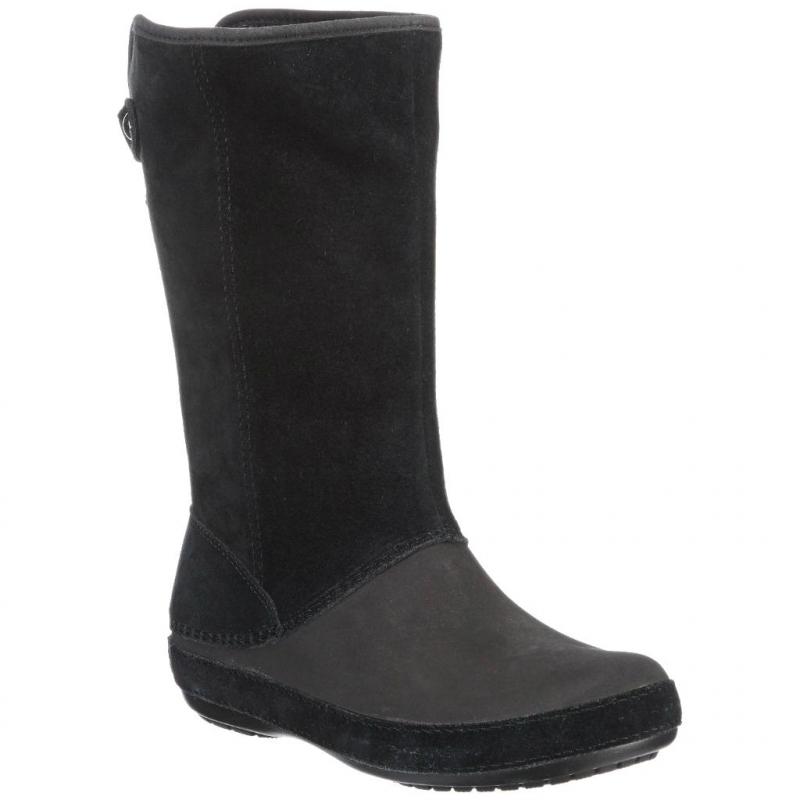 e3f625d2d CROCS-Berryessa Suede Boot black -