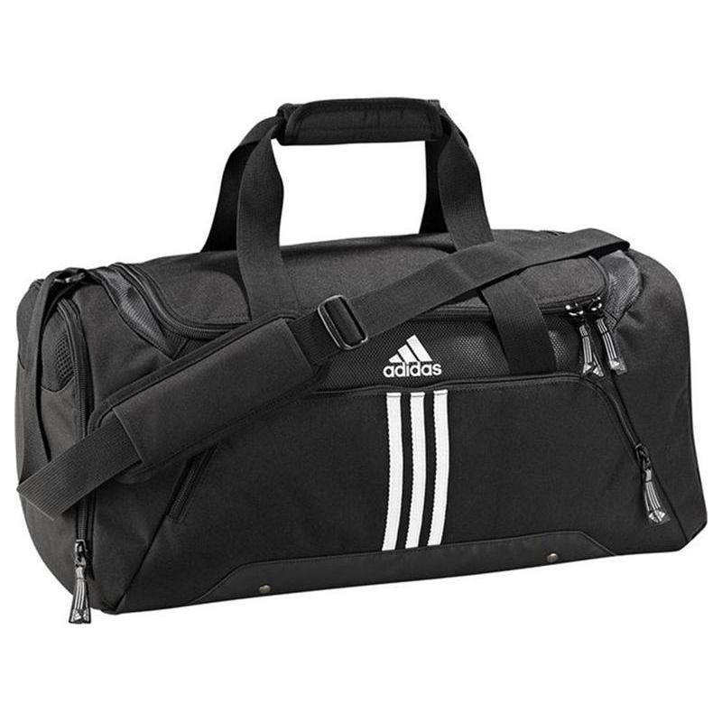 660b6f4511faf Cestovná taška ADIDAS-3S ESS TBS / BLACK/WHITE/WHITE -