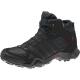 ADIDAS-AX2 MID GTX/DARK SHALE/BLACK 1/LIGHT SCARLET - Pánska outdoorová obuv v kotníkovom prevedení.