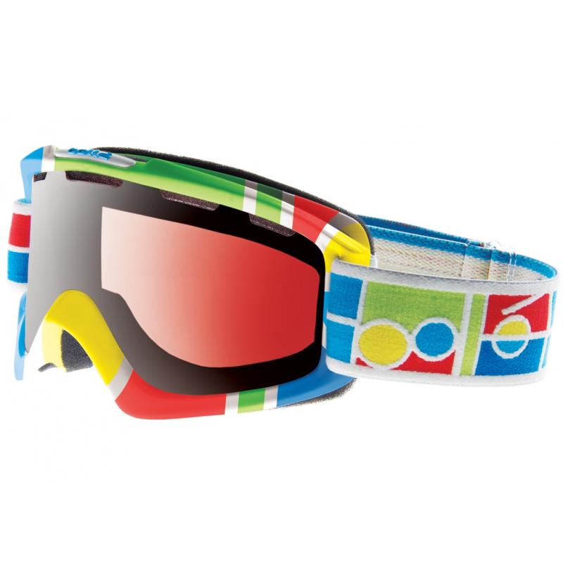 Lyžiarske okuliare BOLLE-NOVA Logo Blocks-Vermillon Gun - 2ff3c6c16b1