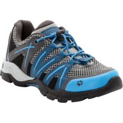 Juniorská turistická obuv nízka JACK WOLFSKIN-VOLCANO AIR LOW moroccan blue