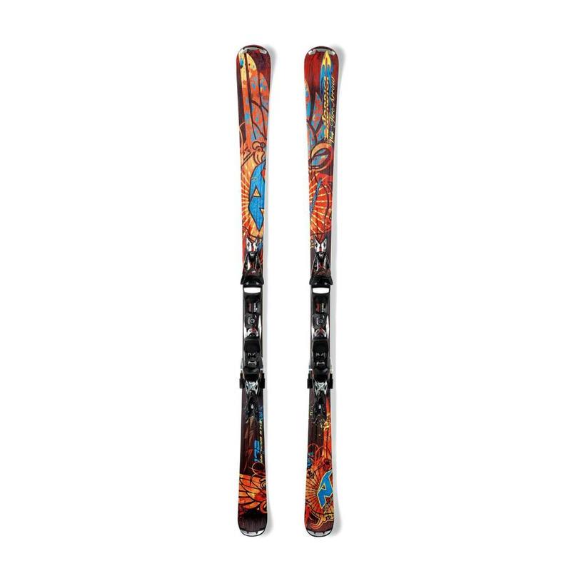 Carvingové lyže NORDICA-FIRE ARROW74 XBI CT DARK RED (N EXP 2S XB CT edea4d4dc57